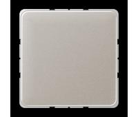 Заглушка Jung CD 500, скрытый монтаж, алюминий, CD594-0PT