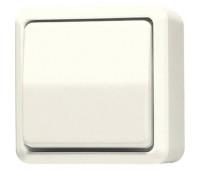 Выключатель 1-клавишный Jung AP600, слоновая кость, 602A