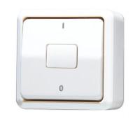 Выключатель 1-клавишный Jung AP600, белый, 602AWW