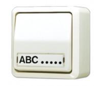 Выключатель 1-клавишный Jung AP600, слоновая кость, 606ANA