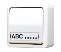 Выключатель 1-клавишный Jung AP600, белый, 606ANAWW