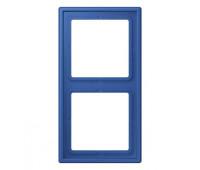 Рамка 2 поста Jung LS 990 LE CORBUSIER, bleu outremer 59, LC9824320K
