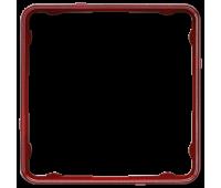 Внутренняя рамка Jung CD 500, красный металлик, CDP81RTM