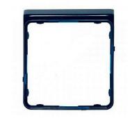 Внешняя рамка Jung CD 500, синий металлик, CDP82BLM