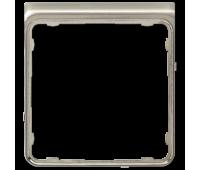 Внешняя рамка Jung CD 500, благородная сталь, CDP82ES