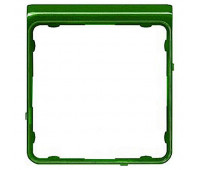 Внешняя рамка Jung CD 500, зеленый металлик, CDP82GNM