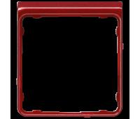Внешняя рамка Jung CD 500, красный металлик, CDP82RTM
