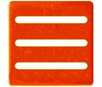 Наклейка для индикаторов FEDE IP20, FD28624-G