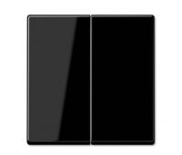 Клавиша двойная Jung А-СЕРИЯ, черный, A595SW
