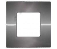 Вставка декоративная 1-ная FEDE BELLE EPOQUE, matt chrome, FD04401CM