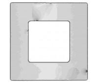 Вставка декоративная 1-ная FEDE BELLE EPOQUE, белый, FD04401WH