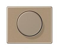 Накладка на светорегулятор Jung SL 500, бронза, SL1540GB