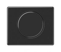 Накладка на светорегулятор Jung SL 500, черный, SL1540SW