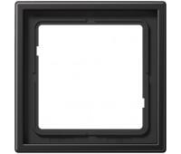 Рамка 1 пост Jung LS METAL, алюминий темный, AL2981D