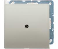 Вывод кабеля Jung LS METAL, скрытый монтаж, алюминий темный, AL2990AD
