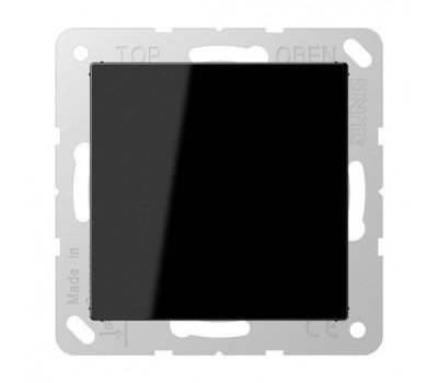 Заглушка Jung А-СЕРИЯ, скрытый монтаж, черный, A594-0SW