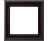 Рамка 1 пост Jung LS ZERO, алюминий темный, LSZAL981BFD