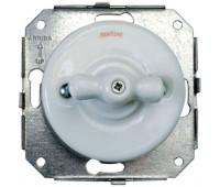 Выключатель поворотный Fontini GARBY COLONIAL, белый, 31306172