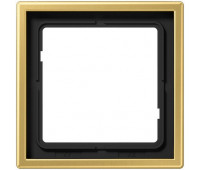 Рамка 1 пост Jung LS METAL, латунь, ME2981C
