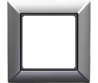 Рамка 1 пост Jung ECO PROFI, алюминий, EP481AL