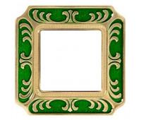 Рамка 1 пост FEDE, emerald green, FD01351VEEN