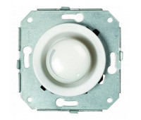 Светорегулятор поворотный Fontini GARBY COLONIAL, 500 Вт, белый, 31332172