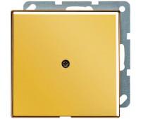 Вывод кабеля Jung LS METAL, скрытый монтаж, золотой, GO2990A