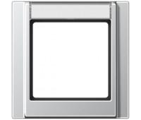 Рамка 1 пост Jung A 500, вертикальная, алюминий, A581NAAL