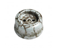 Розетка Fontini GARBY, открытый монтаж, со шторками, мрамор Reggia, 30205152