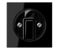 Накладка на жалюзийный выключатель Jung A 500, черный, A1541SW
