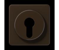 Накладка на поворотный выключатель Jung CD 500, коричневый, CD528BR