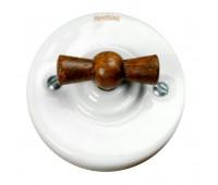 Выключатель поворотный Fontini GARBY COLONIAL, белый, 31306212