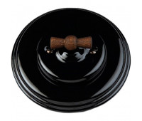 Выключатель поворотный Fontini GARBY COLONIAL, черный, 31306292
