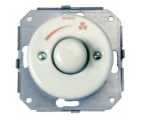 Светорегулятор поворотный Fontini GARBY COLONIAL, 500 Вт, черный, 31332272