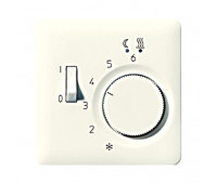 Накладка на термостат Jung AS 500, бежевый, AFTR231PL