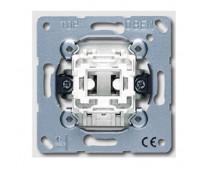 Механизм выключателя 1-клавишного кнопочного Jung коллекции JUNG, 531U