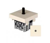Выключатель поворотный на два направления FEDE коллекции FEDE, бежевый, FD03140-A