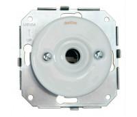 Вывод кабеля Fontini GARBY COLONIAL, скрытый монтаж, белый, 31927172