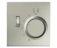 Накладка на термостат Jung LS METAL, алюминий, ALFTR231PL