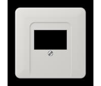 Накладка на аудиорозетку Jung CD 500, скрытый монтаж, светло-серый, CD569TLG