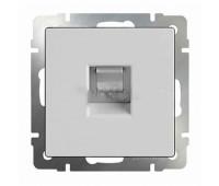 Розетка компьютерная 2xRJ45 Fontini DO, скрытый монтаж, белый, 34707172