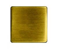 Заглушка FEDE, скрытый монтаж, bright patina, FD04319PB