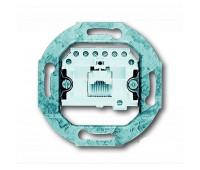 Механизм розетки телефонной Jung коллекции JUNG, скрытый монтаж, античная латунь, EPUAE8UPO
