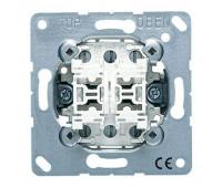 Механизм выключателя 2-клавишного кнопочного Jung коллекции JUNG, 535U