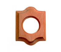Рамка 1 пост Fontini VENEZIA, дерево натуральное, 36801002