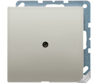Вывод кабеля Jung LS METAL, скрытый монтаж, матированный алюминий, AL2990A