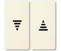 Клавиша для жалюзийного выключателя FEDE, бежевый, FD17769-A