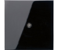 Вывод кабеля Jung LS 990, скрытый монтаж, черный, LS990ASW