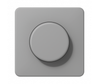 Накладка на светорегулятор Jung CD 500, серый, CD1540GR