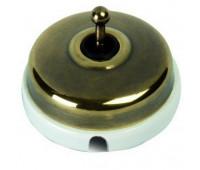 Переключатель тумблерный перекрестный Fontini DIMBLER, бронза, 60304532